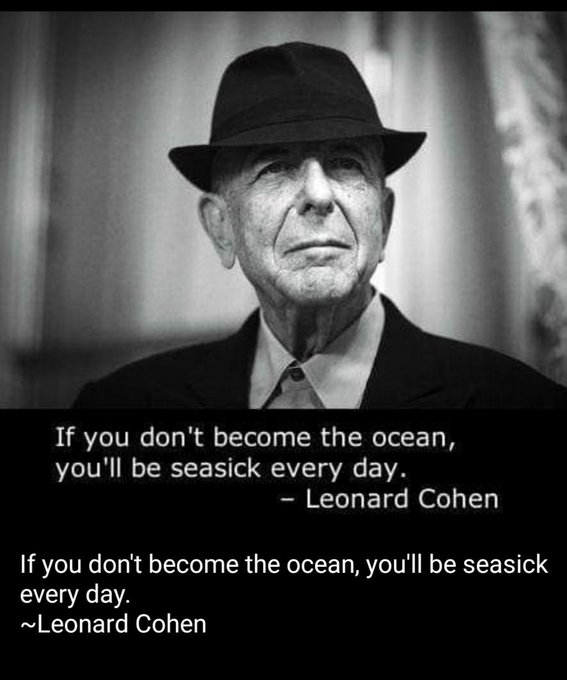 Happy 85th Birthday Leonard Cohen.. A genius beyond words!