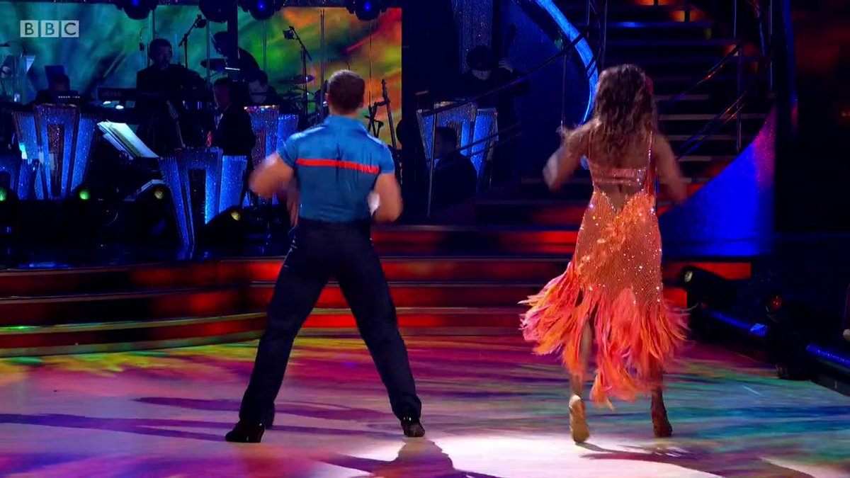 Brb just watching @kelvin_fletcher and @OtiMabuse's Samba on repeat for three days solid. 😮😮😮 #Strictly