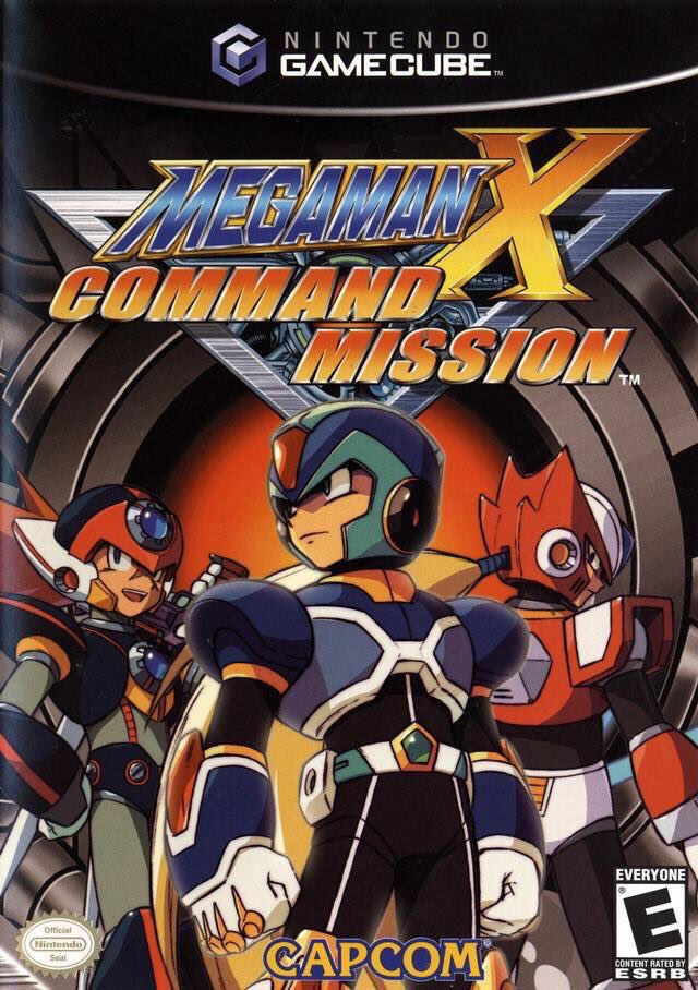 Mega Man X: Command Mission for Gamecube & PS2 was released on this day in North America, 15 years ago (2004)