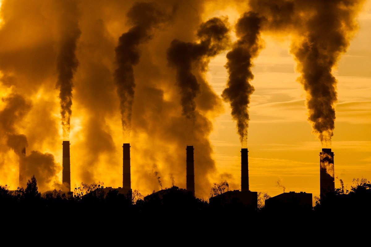 """""""Dumping millions of tons of anything into the atmosphere is going to change something."""" -   http://climatestrike.net    #ClimateChange #GlobalWarming #Pollution #Environment #GreenhouseGases #EcologicalDisaster #PlasticPollution #ClimateStrike #PlantTrees"""