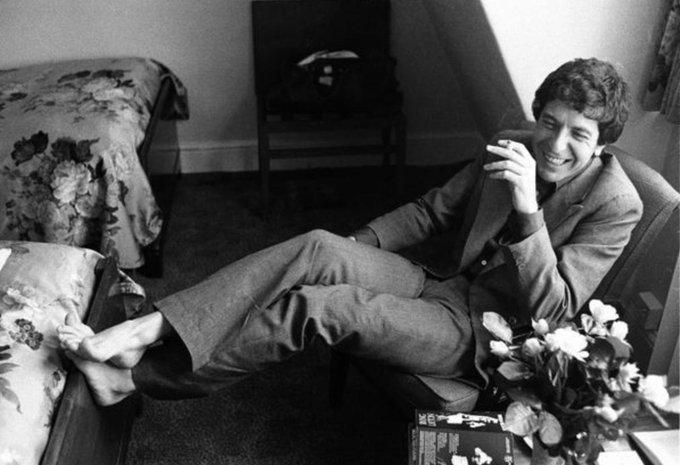 Happy Leonard Cohen\s Birthday.