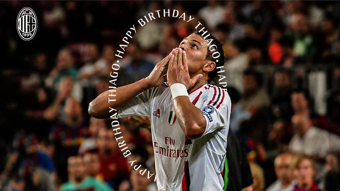 Wishing a happy birthday to Thiago Silva who turns 35 today!    Tanti auguri di buon compleanno Thiago!