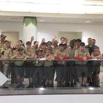 Image for the Tweet beginning: Boys Scout of America Troop