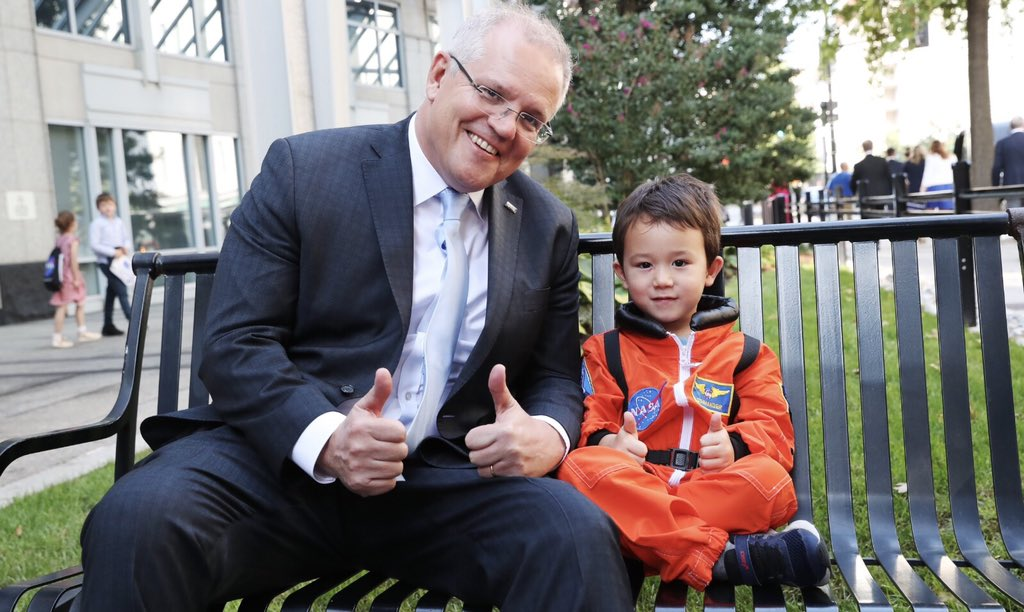 We're also investing $150 million into local Australian businesses and new technologies that will support @NASA on its campaign to return to the Moon and travel to Mars.
