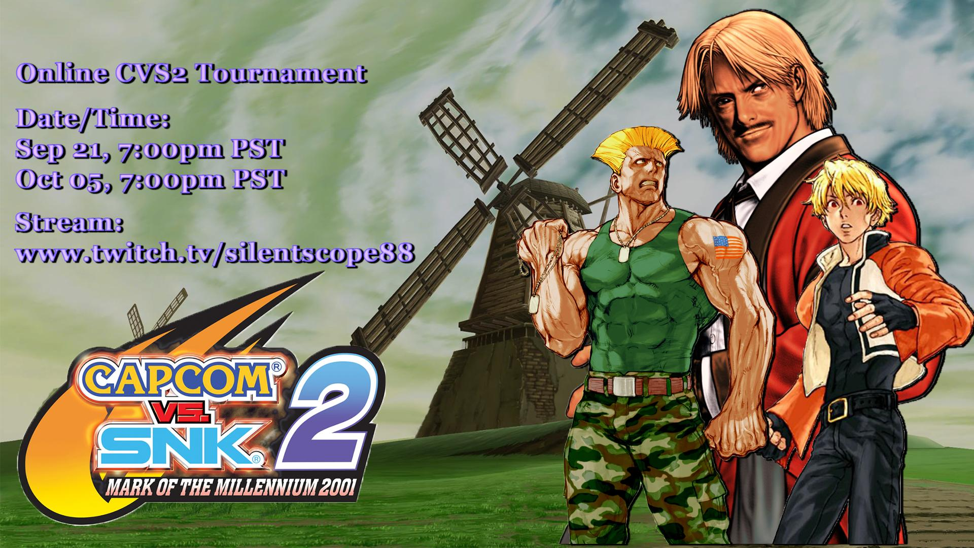 Silentscope88 On Twitter Online Cvs2 Tournament To Start In A