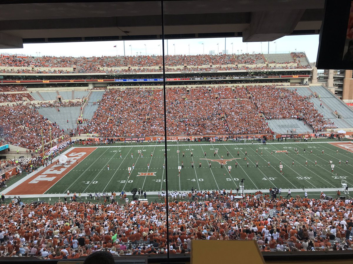 Why Texas' Student Section Is So Empty At Kickoff Tonight