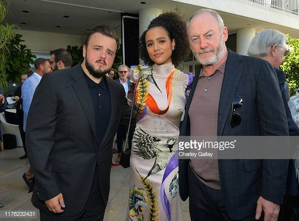 John Bradley, Nathalie Emmanuel & Liam Cunningham of Game of Thrones at the BAFTA Los Angeles + BBC America TV Tea Party 2019 More 📸 #BAFTATea 👉bit.ly/2muqrTx #BAFTA #GOT #GameofThrones #JohnBradley #NathalieEmmanuel #LiamCunningham