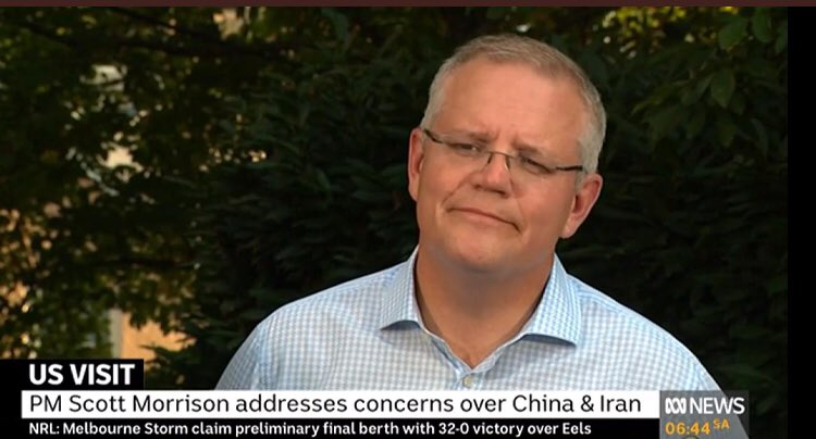 """It's gossip"". @ScottMorrisonMP claim he doesn't have to answer questions about inviting @brianhoustontv to the White House is classic example of his relationship with the truth. One day, it might not be today or next year, but it's going to blow up in his face."