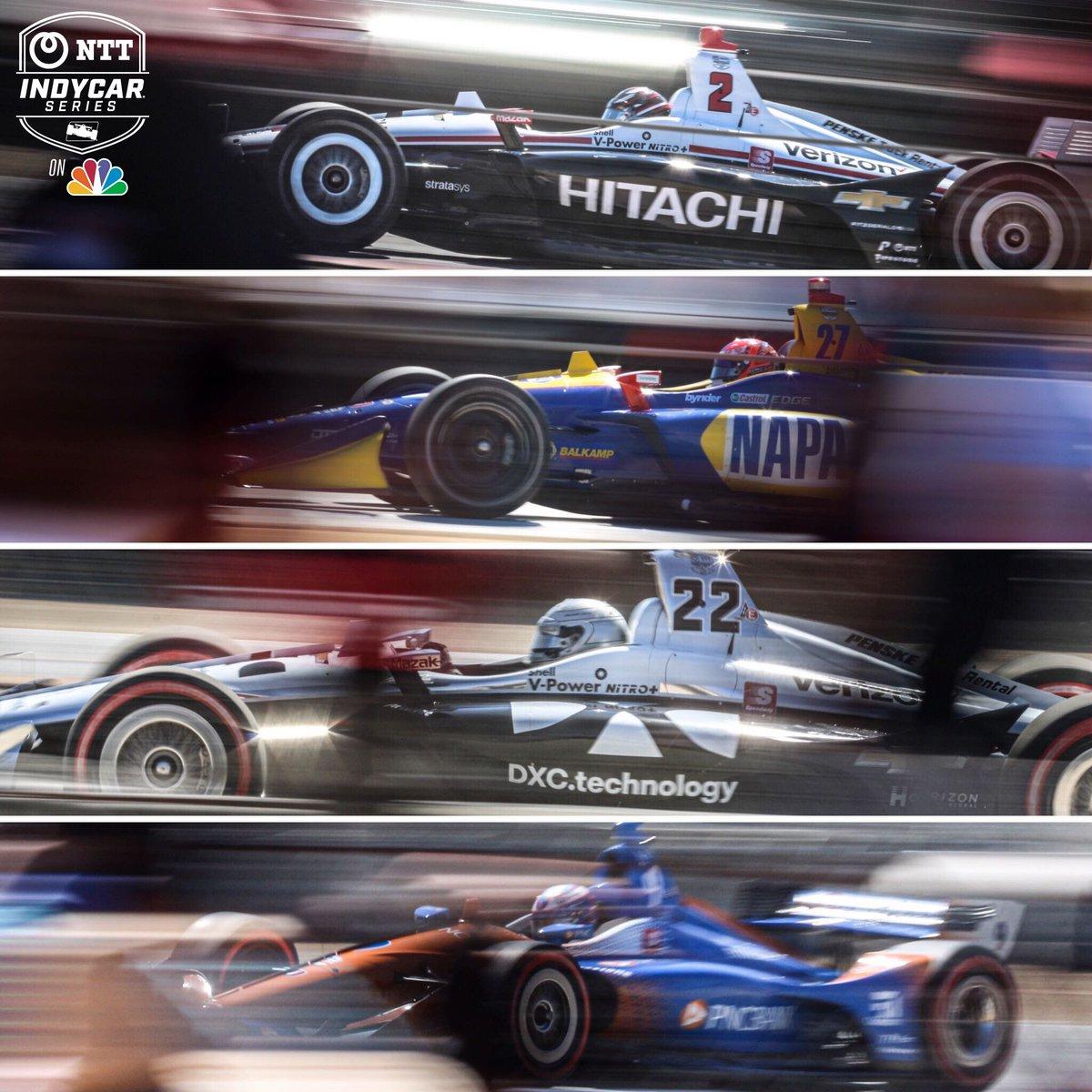 One last @IndyCar championship contenders appreciation post. #FirestoneGP // @weathertechrcwy Laguna Seca