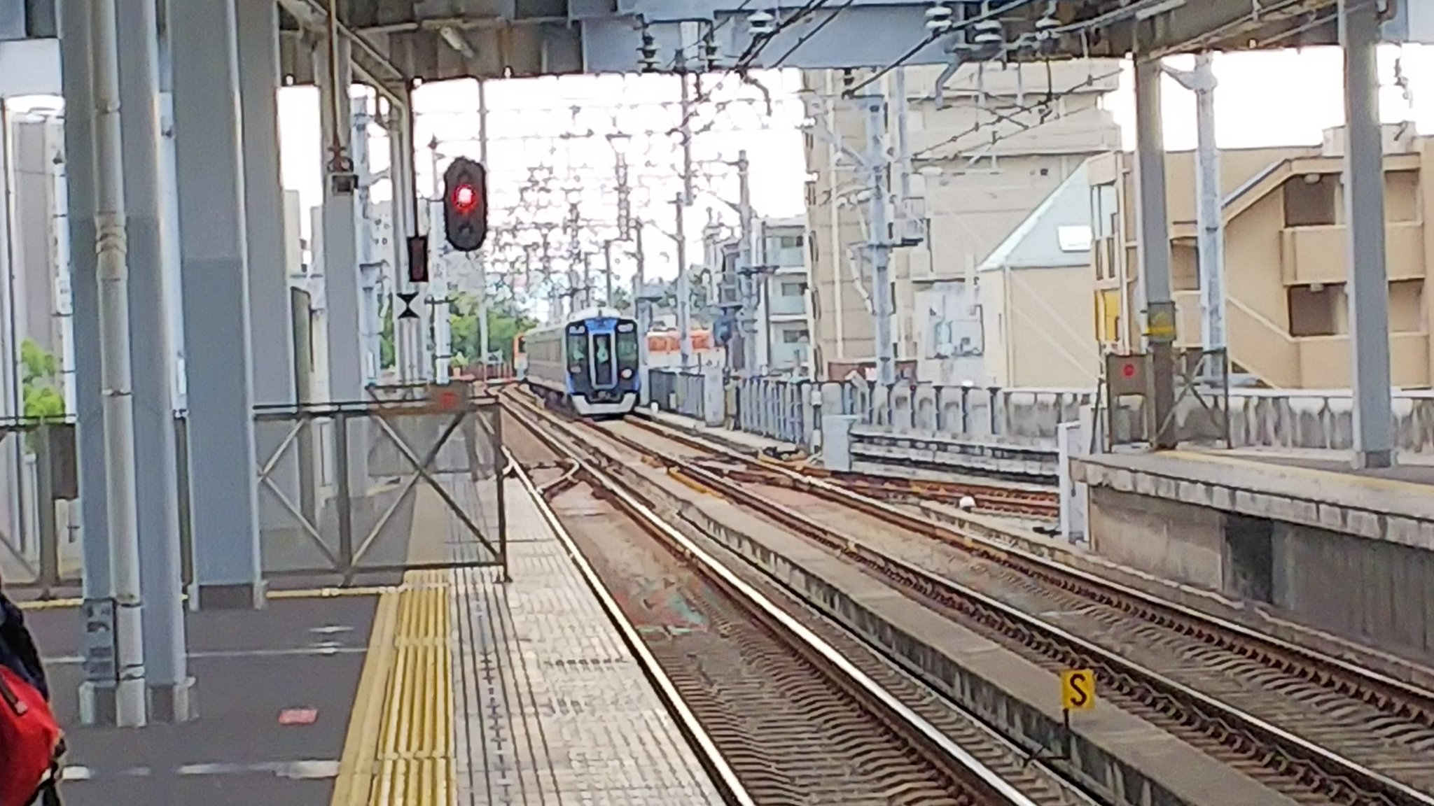 阪神本線の香櫨園駅~打出駅間で人身事故が発生した画像