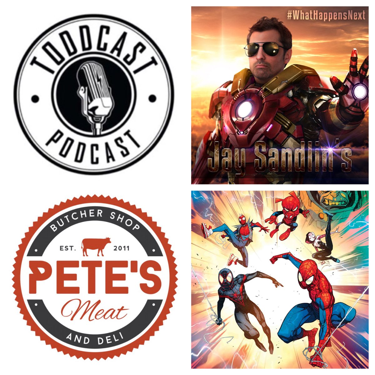 #ComicBook writer / #WhatHappensNext host @JaySandlin_WHN is a guest Sept.24 and we talked about the amazing #SpiderMan Into The #SpiderVerse. ow.ly/b5c930pxfAR * @Petesmeats powers entertainment guest visits!