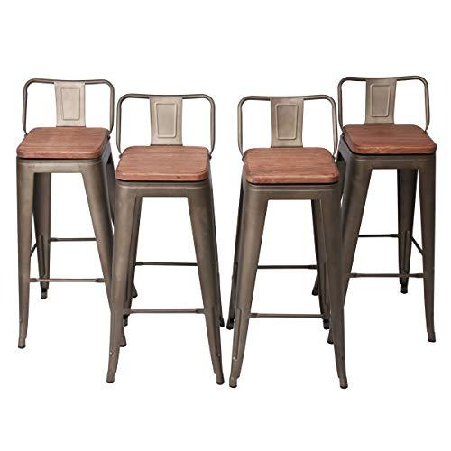Marvelous Barstools Changjie Furniture 30 Inch Swivel Metal Bar Inzonedesignstudio Interior Chair Design Inzonedesignstudiocom