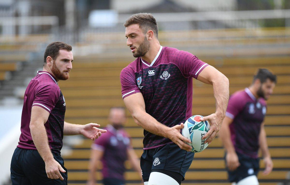 #TheLelos captains run ahead of @rugbyworldcup Pool Dopener against @WelshRugbyUnion in #RWCCityOfToyota 🔥 🏴 Wales v Georgia 🇬🇪 | September 23, 14:15 KO (GEO TIME) #რაგბიჩვენითამაშია #WALvGEO #RWC2019 📸 @TamarPhoto 2/3