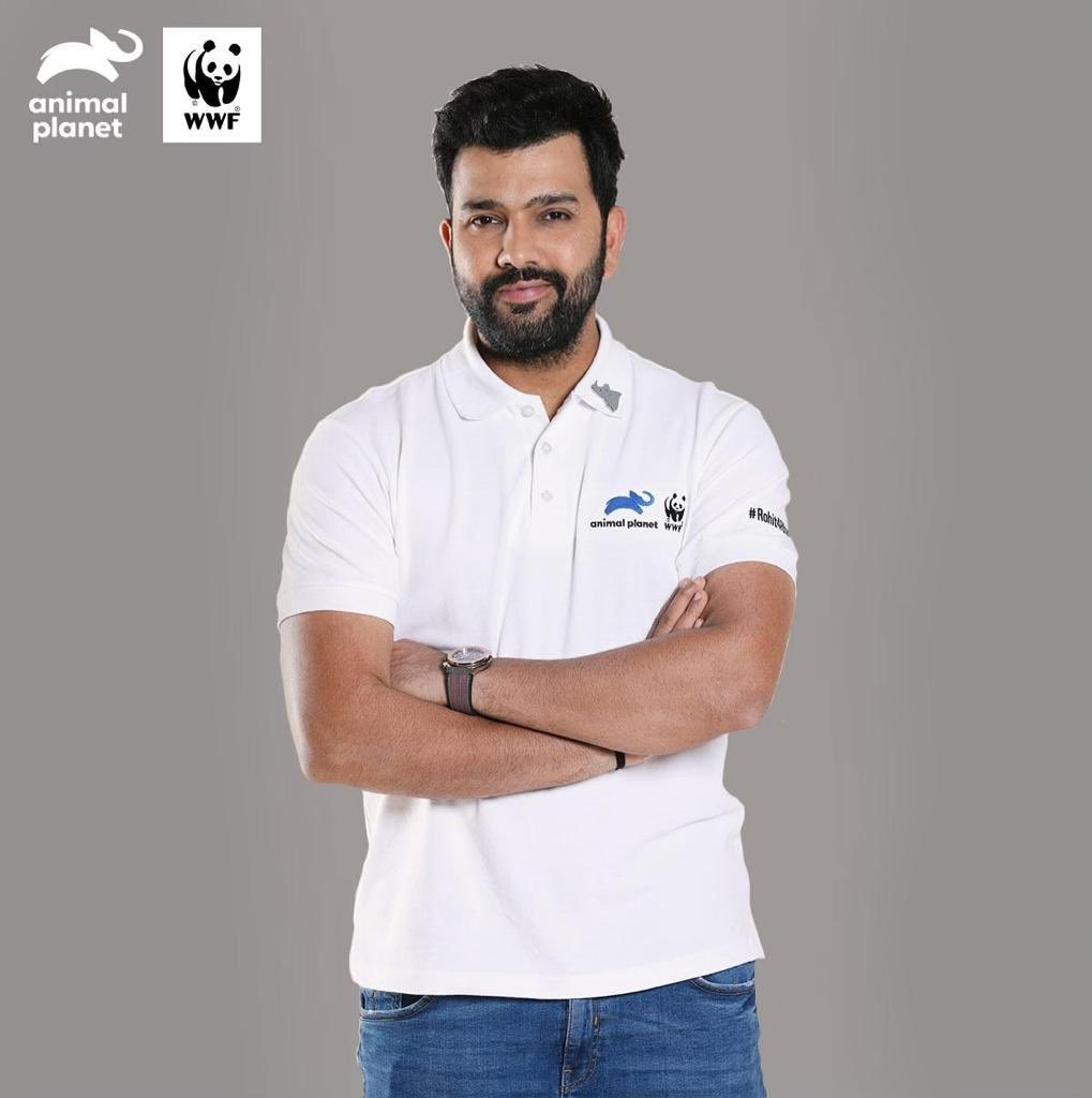 Today is #WorldRhinoDay. The #IndianRhino faces threats of #poaching and #habitatloss and it is our duty to make sure that we don't let this majestic species fade into extinction. Support me, @WWFINDIA and @AnimalPlanetIn as we #BatForRhinos at http://rohit4rhinos.org