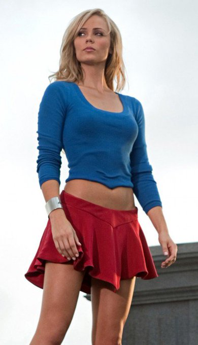 Happy Birthday to not only  but Toronto\s Supergirl..... Laura Vandervoort