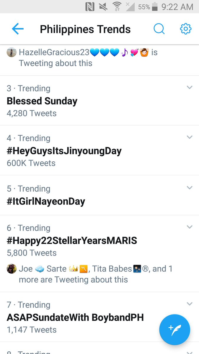 Top six na Nationwide!  Happy Birthday Stella! May He grant your heart desires. Stay happy and healthy!  #Happy22StellarYearsMARIS<br>http://pic.twitter.com/seLHs6Aygb