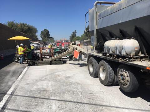 Image posted in Tweet made by Caltrans District 8 on September 22, 2019, 1:33 am UTC