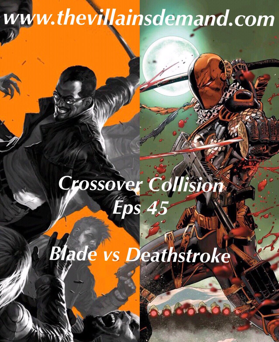 In our newest Crossover Collision episode @evanthegreattvd brought up an interesting question about #Blade. Being a dhampir he has all of the strengths of a vampire and none of the weaknesses. Does that mean he has a heartbeat regardless of vampires not having one? I say he does.