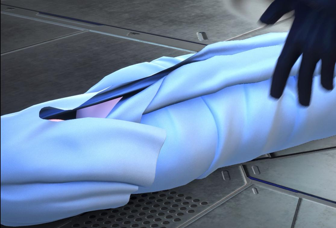 """I found it so odd that both the Replica Demyx brings to Ienzo in KH3 and the """"heartbroken"""" Ventus Xehanort was going to leave on Destiny Islands were wrapped in the same kind of cloth. Is there supposed to be some  kind of parallel? <br>http://pic.twitter.com/2npoLy5rQD"""