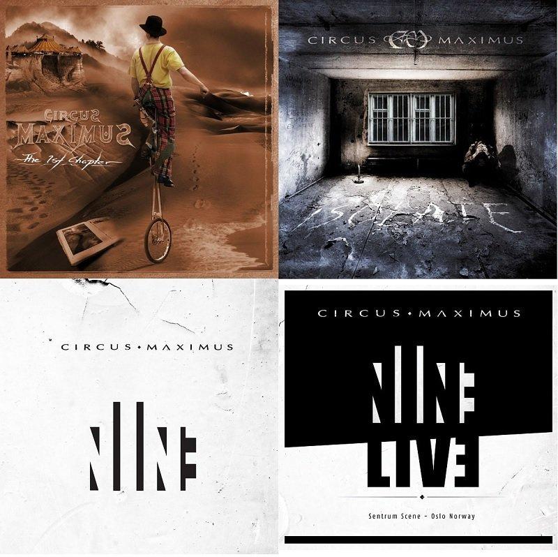 【発売中】国内盤:来日公演が決定したCIRCUS MAXIMUSの05年1stアルバム『THE 1ST CHAPTER』07年2ndアルバム『ISOLATE』12年3rdアルバム『NINE』がそれぞれボーナストラック収録で再発! さらに『NINE』完全再現ライヴ+新曲の『NINE LIVE + EP』もリリース!! https://t.co/Mjix6fzQag