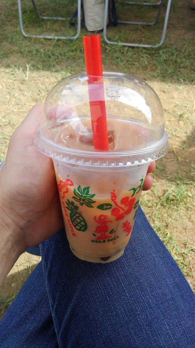 訳あって北関東にできた渋谷で初タピオカミルクティー 暑いからアイスミルクティーは美味しいとして、感想は俺はタピオカよりアイスクリーム入れてほしいな!