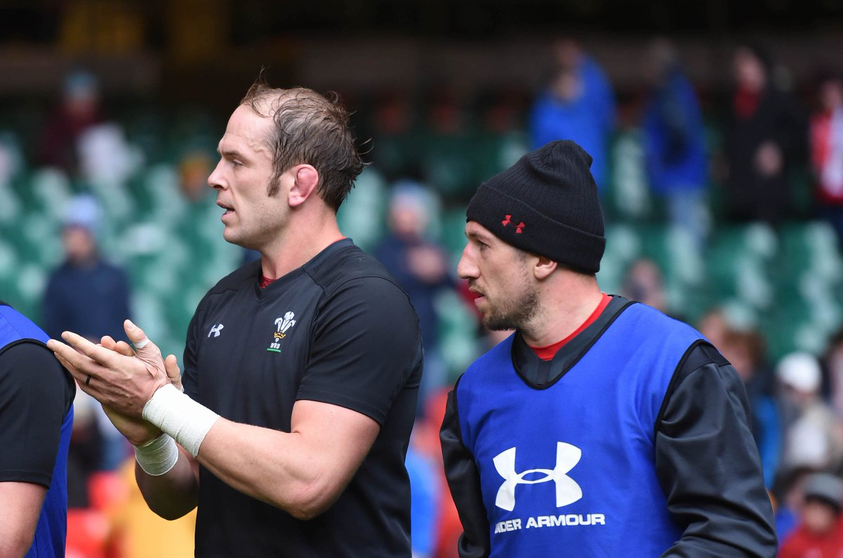 """""""We are chomping at the bit, says @alunwynjones ahead of Wales opening @rugbyworldcup match against @GeorgianRugby tomorrow, while Justin Tipuric says training has been on the edge. Read everything they had to say about #WALvGEO bit.ly/AWJTipsRWC #HWFN"""