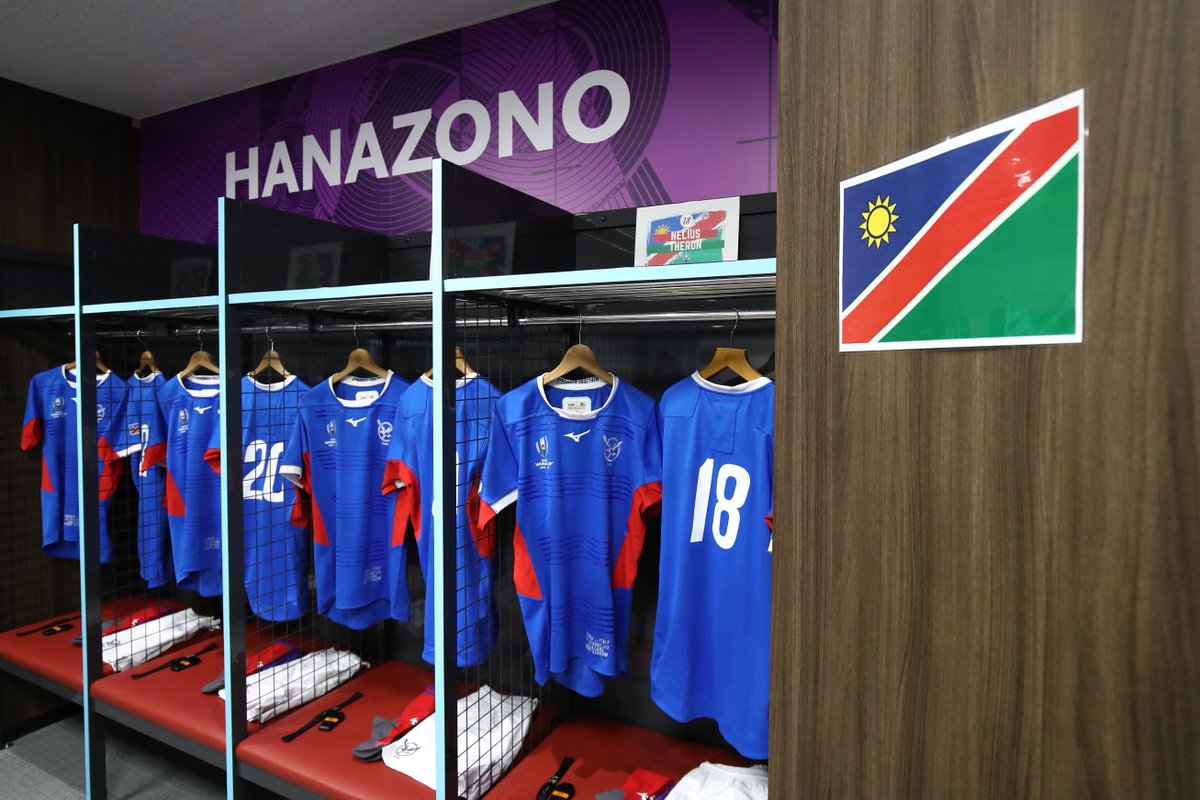 test Twitter Media - 📷 Namibia's dressing room looking absolutely 👌  #ITAvNAM #RWC2019 https://t.co/jrtBeL4Xzo