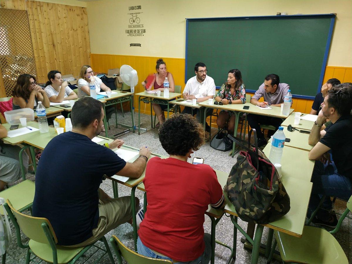 """📌 @GuzmanCasares llevará al Pleno del Parlamento las reivindicaciones de las AMPAS de Marbella y recordará a Imbroda que """"lleva diez meses sin responder al pacto por una educación pública de calidad promovido por las ampas y firmado por todos los partidos políticos"""""""
