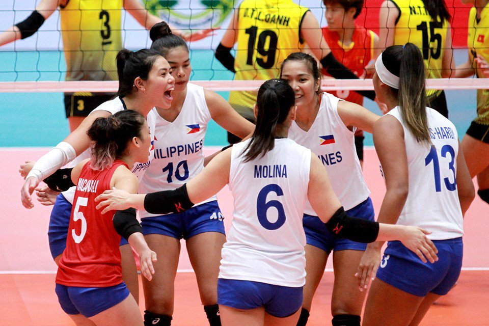 Paat 22 pts 4 aces, 4 blks  Mau 16 pts  Molina 14 pts  Baron 13 pts, 6 blks  The Women's National Team comes home with bronze in the ASEAN GP first leg »  http:// bit.ly/2ktdKaL     <br>http://pic.twitter.com/zQy69jeSjD