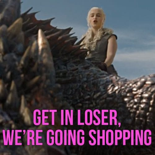 I bet Bananaphone & Wienerschnitzel never watched Mean Girls #GoT #GameofThrones redd.it/d7lazf