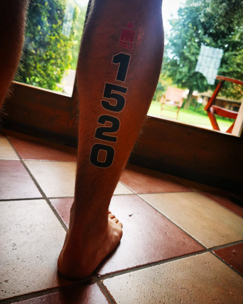 Here we go!! @IRONMANITALY they are not my legs!! GO Scotty!!!  @scott_ormond #ironmanitaly