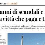 Image for the Tweet beginning: Ecco #Catania, capitale siciliana della