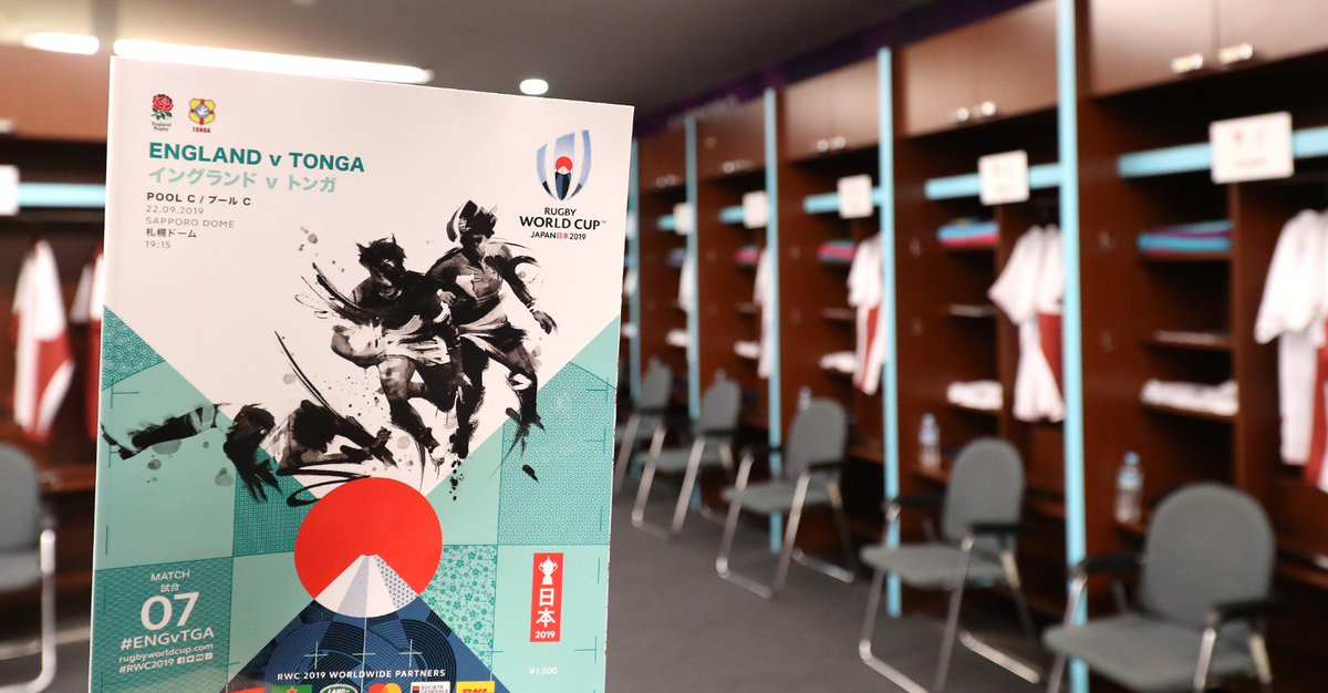 test Twitter Media - Remember to get your official programme at #ENGvTGA later today.  Programmes are available at all matches at #RWC2019 https://t.co/V9GwSQ0SGe