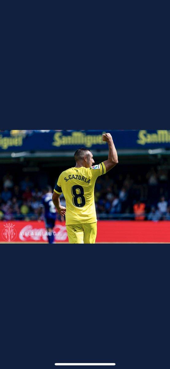 Gran victoria ayer del equipo,gracias afición por el apoyo,pensando en el martes ya 💪💪⚽️⚽️ @VillarrealCF #endavant💛