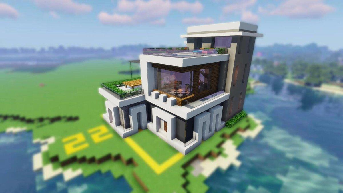 建築 マイクラ モダン
