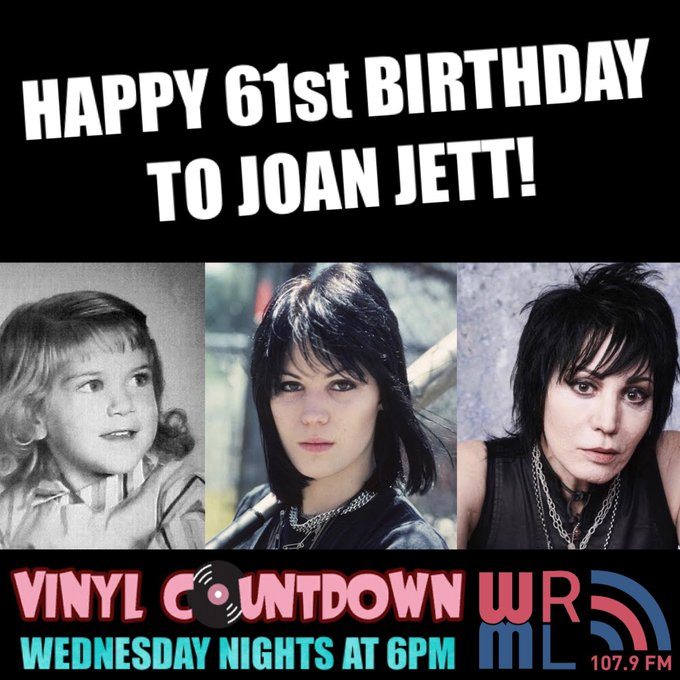 We at the show would like to wish a happy birthday to the rockin Joan Jett, who turns 61 years old today!