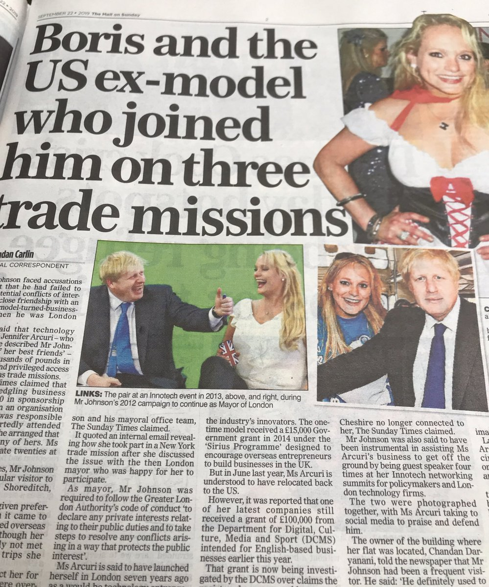 Johnson has to be the tackiest prime minister we've ever had.