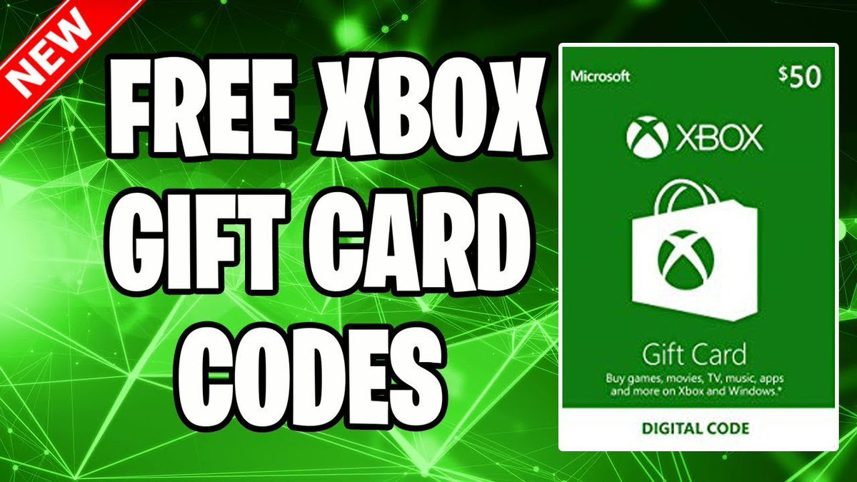 Xbox Live Gift Cards At Codesxboxlive Twitter