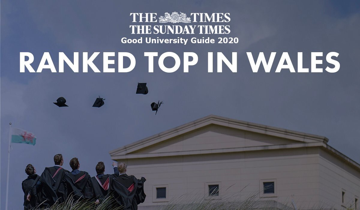 ICYMI: We've been named the best university in Wales for the second year running in the The Times and The Sunday Times Good University Guide 2020 🎉   More ➡️ https://t.co/oAmoTua3Nz  #GoodUniGuide #SwanseaUni https://t.co/awRVkLkoKY