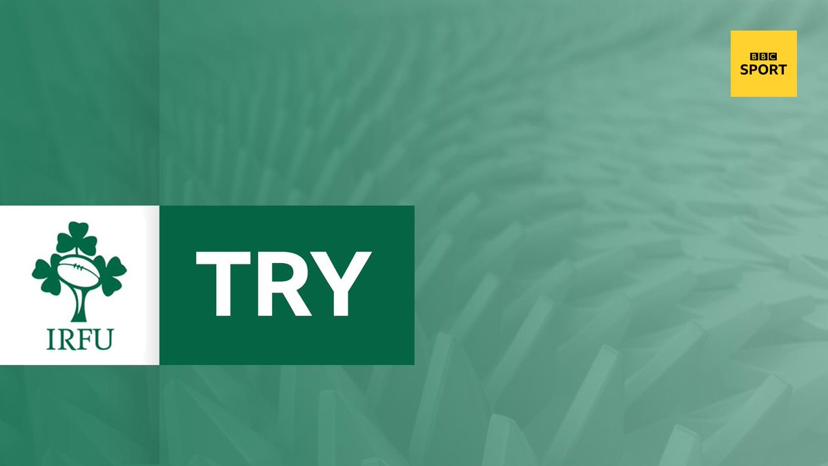 test Twitter Media - TRY!  Andrew Conway capitalises on Conor Murray's kick and sprints to the line.  Conversion missed.  Game over?  Ireland 24-3 Scotland  Commentary @5liveSport & online: https://t.co/fijzfZVbT3  #bbcrugby #IREvSCO #RWC2019 https://t.co/r2awLijPAn