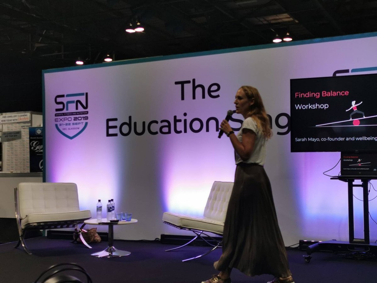 Sarah Mayo is about to take to the #EducationStage! 🙌 Dont miss out! #SFN #SFN19 #SFNexpo #SFNexpo19 #JoinTheMovement