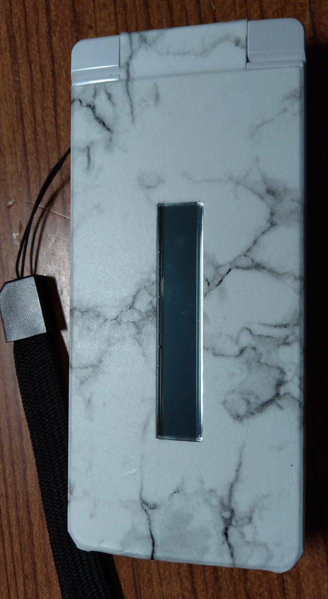 test ツイッターメディア - ほぼ電話専用のガラケー(ガラホ)に100均のシート(リメイクシート?)を貼ってみました。スマートフォンのようにケースがないので、これでキズ防止をしてます。  #phone #100均 #ガラホ #ガラケー #AQUOS #キャンドゥ https://t.co/d51C87058L