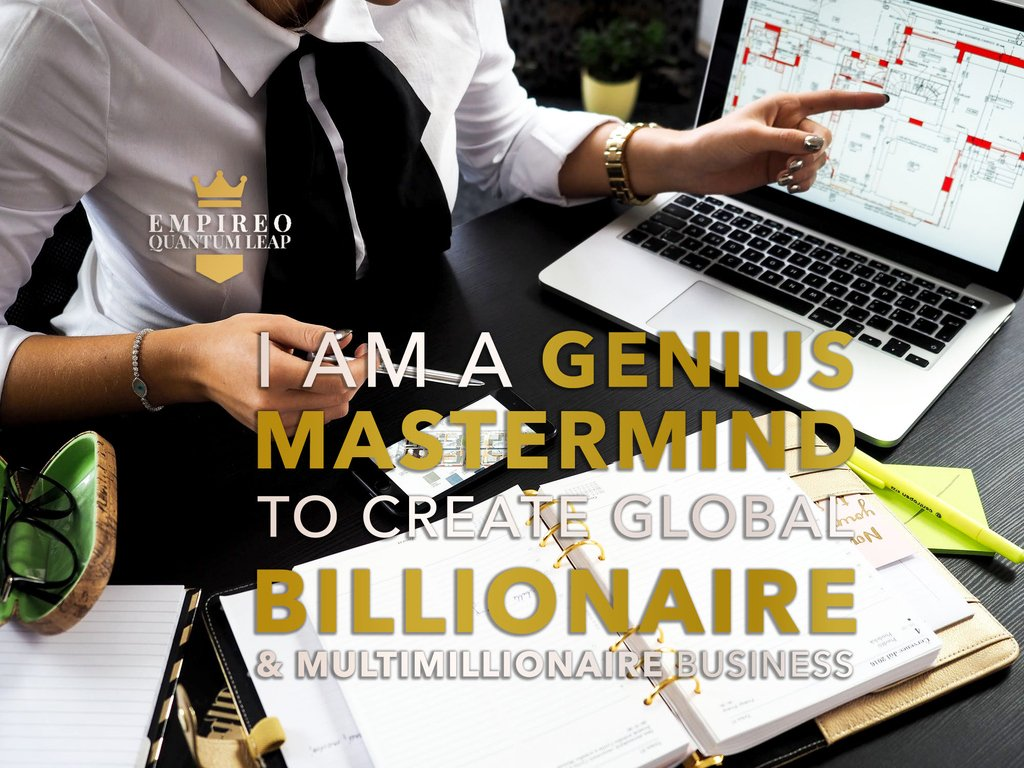 """You are a MASTERMIND to create global BILLIONAIRE & MULTIMILLIONAIRE business. 👏💰🏗️💰  """"QUANTUM LEAP TO MILLIONAIRE""""💰💎 ▶️ I want to know more about the program https://t.co/zfXarp0sbB https://t.co/I8HEv9uQ9C"""