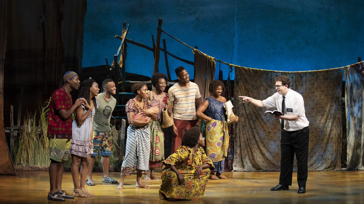 After eight years since debuting on Broadway, the laughs in The Book of Mormon still land (and dont worry there are still two more chances to see the show here in Madison). buff.ly/30byjeT
