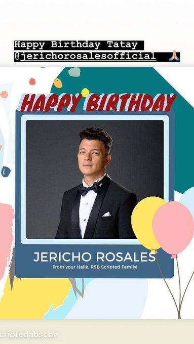 Happy birthday God bless  credit: igs