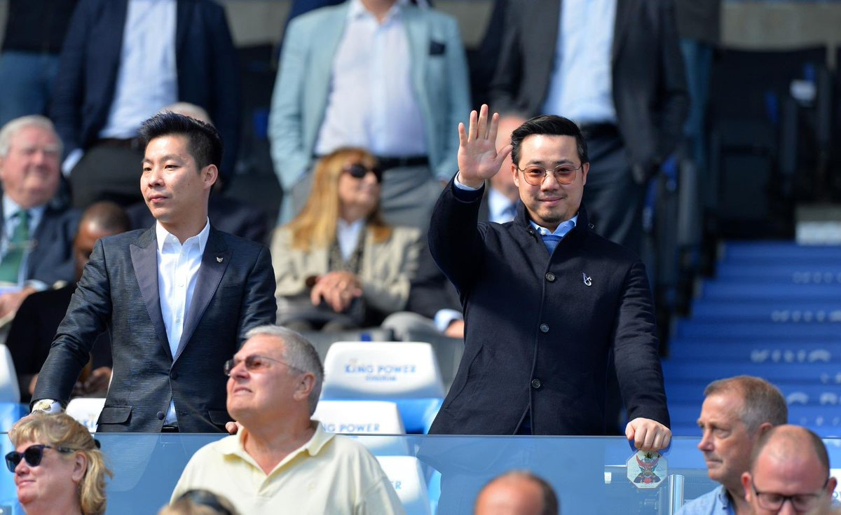 Khun Top was at King Power Stadium for yesterday's 2-1 win over Spurs!  <br>http://pic.twitter.com/nmFJZE0vsB