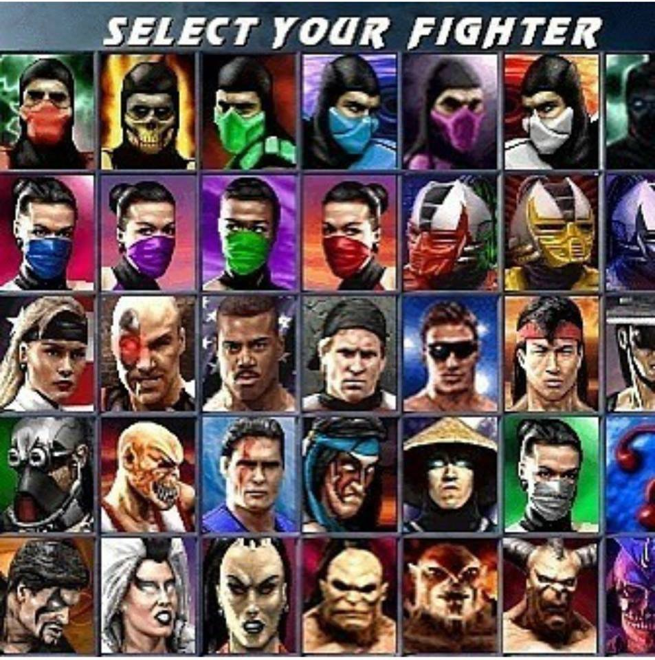 Choose your fighter, mention someone you used to beat silly. Lol rain