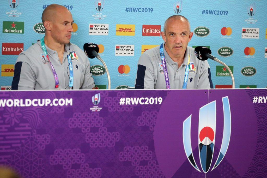 🔵 #ITAvNAM: le dichiarazioni del CT Conor O'Shea dopo il match ➡️ tinyurl.com/yyhhprmo #RWC2019 #insieme #rugbypassioneitaliana