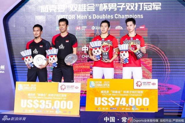 Tournament super 1000 milik MD INDONESIA  #AllEngland2019 :DEDDIES #IndonesiaOpen2019 : MINIONS #ChinaOpen2019 : MINIONS https://t.co/sjMJjqLijx
