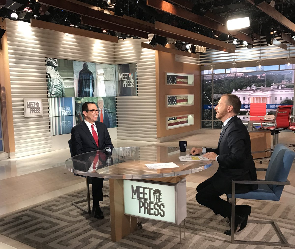 Joined @chucktodd this morning on @MeetThePress to discuss the Iran maximum pressure campaign.